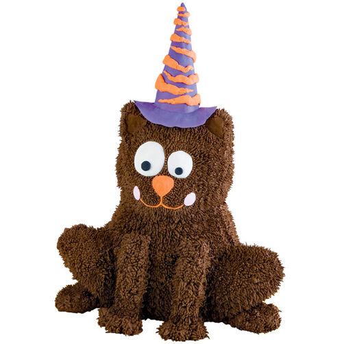 Scaredy Cat Halloween Cake